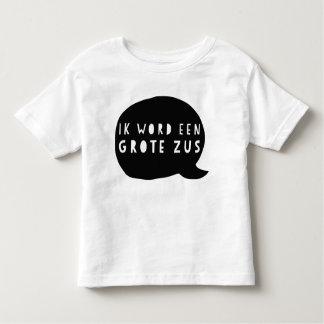 Zwangerschapsaankondiging: Ik word een grote zus Kinder Shirts