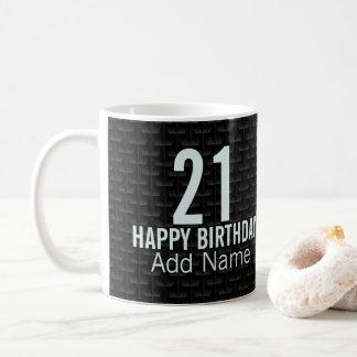 Zwart 3D netwerk Koffiemok