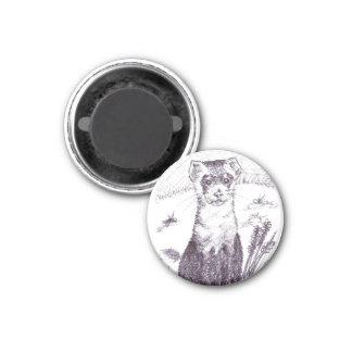 Zwart Betaald Fret - Magneet