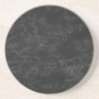 Zwart Beton Zandsteen Onderzetter