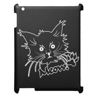 Zwart de douane iPad hoesje van de Kat