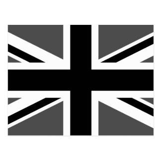 Zwart en Grijs Union Jack Briefkaart