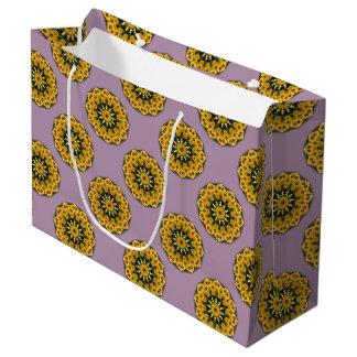 Zwart-eyed Susans 02.2, Bloemen mandala-stijl Groot Cadeauzakje