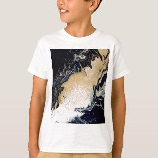 Zwart Goud T Shirt