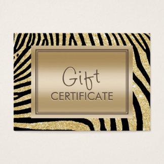 Zwart & Gouden Strepen van de Certificaten van de