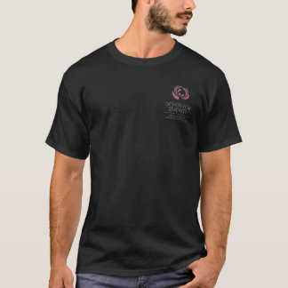 Zwart het overhemdsOntwerp van het mannen voor T Shirt
