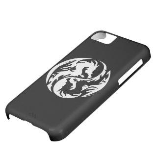 Zwart) iPhone5C Hoesje stammen van Draken (