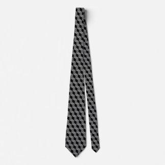 Zwart kubusstropdas custom stropdassen