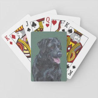 Zwart Labrador Speelkaarten