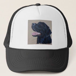 Zwart Labrador Trucker Pet