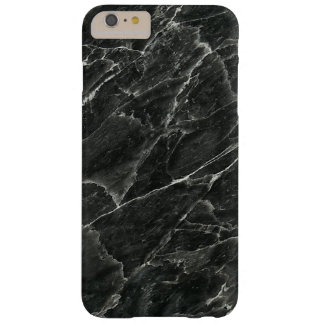 Zwart Marmer Barely There iPhone 6 Plus Hoesje