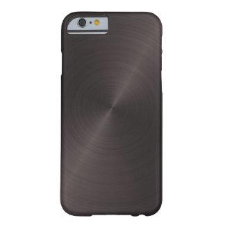 Zwart Metaal Barely There iPhone 6 Hoesje