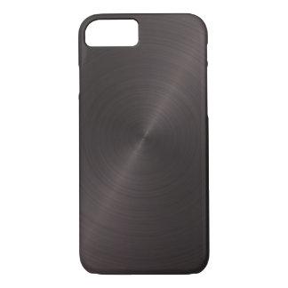 Zwart Metaal iPhone 7 Hoesje