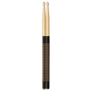 (Zwart) onthaal/Trommelstokken Drumstokkies 0