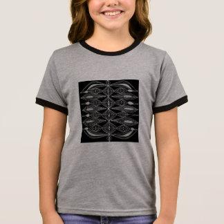 Zwart Ontwerp T Shirts