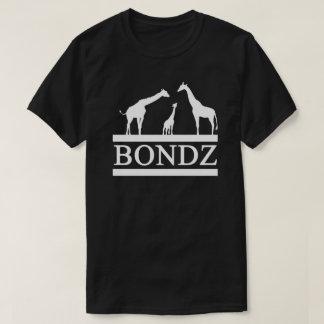 Zwart Overhemd Bondz met Wit Logo T Shirt