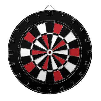 Zwart Rood en Wit Dartboard Dartbord