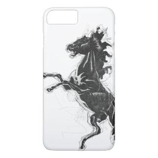 Zwart Ros iPhone 8/7 Plus Hoesje