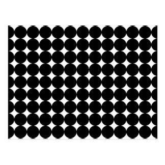 Zwart Stip op Wit Briefkaart