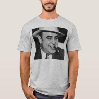 Zwart-wit Al Capone T Shirt