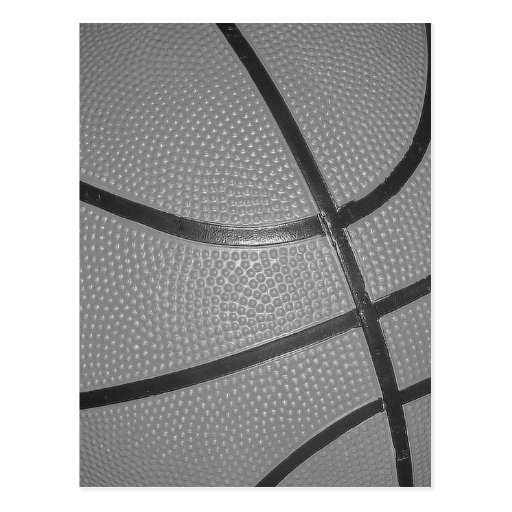 Zwart & Wit Basketbal Wens Kaarten