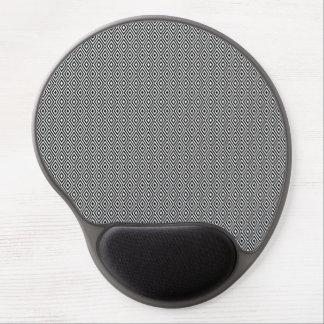 Zwart-wit diamantengel mousepad gel muismat