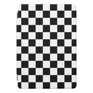 Zwart-wit Geruit Patroon iPad Pro Hoesje
