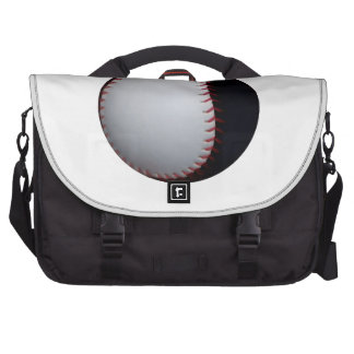 Zwart-wit Honkbal/Softball Tassen Voor Laptops
