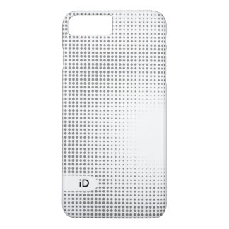 ZWART & WIT   koel abstract patroon iPhone 8/7 Plus Hoesje