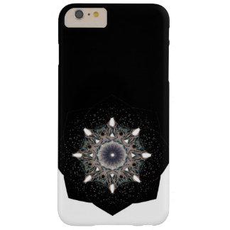 Zwart & wit Mandala bloemiPhone6 hoesje
