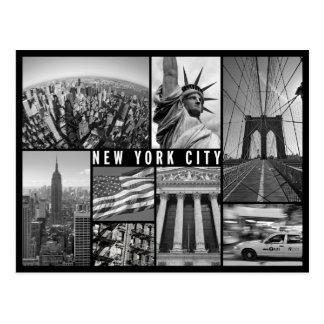 zwart-wit New York Briefkaart