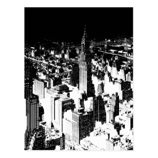 Zwart & Wit New York Briefkaart