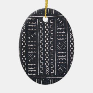 Zwart & Wit Ornament Mudcloth