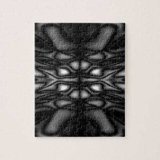 Zwart-wit patroon puzzels
