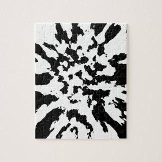 zwart-wit puzzel