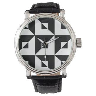 Zwart-wit Raadsel Horloges
