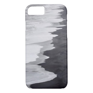 Zwart-wit schilderachtig strand iPhone 8/7 hoesje