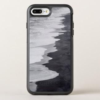 Zwart-wit schilderachtig strand OtterBox symmetry iPhone 8 plus / 7 plus hoesje