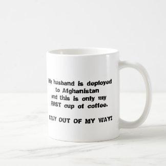 Zwart-wit UIT VOORZIJDE Koffiemok