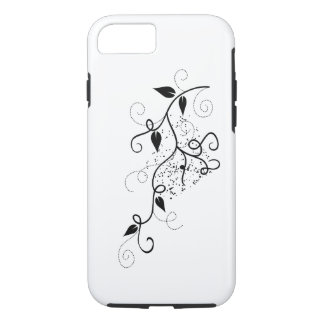 Zwart & wit vector de taksilhouet van de iPhone 7 hoesje