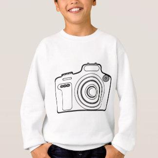 Zwart-witte camera trui