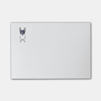 Zwart-witte Chihuahua Post-it® Notes