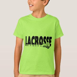 Zwart-witte de Stok van de lacrosse T Shirt