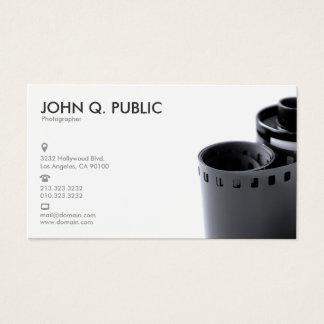 Zwart-witte Fotograaf Visitekaartjes