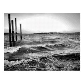 zwart-witte fotografie briefkaart