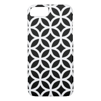 Zwart-witte Geometrisch iPhone 7 Hoesje