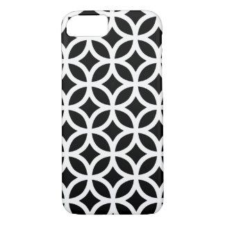 Zwart-witte Geometrisch iPhone 8/7 Hoesje
