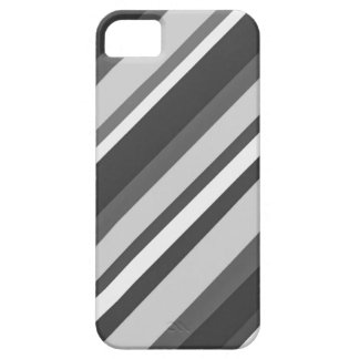 Zwart-witte gestreepte phonecase barely there iPhone 5 hoesje