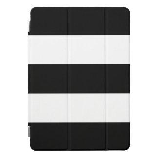 Zwart-witte Gewaagde Strepen iPad Pro Hoesje