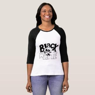 Zwart-witte Harmonie T Shirt